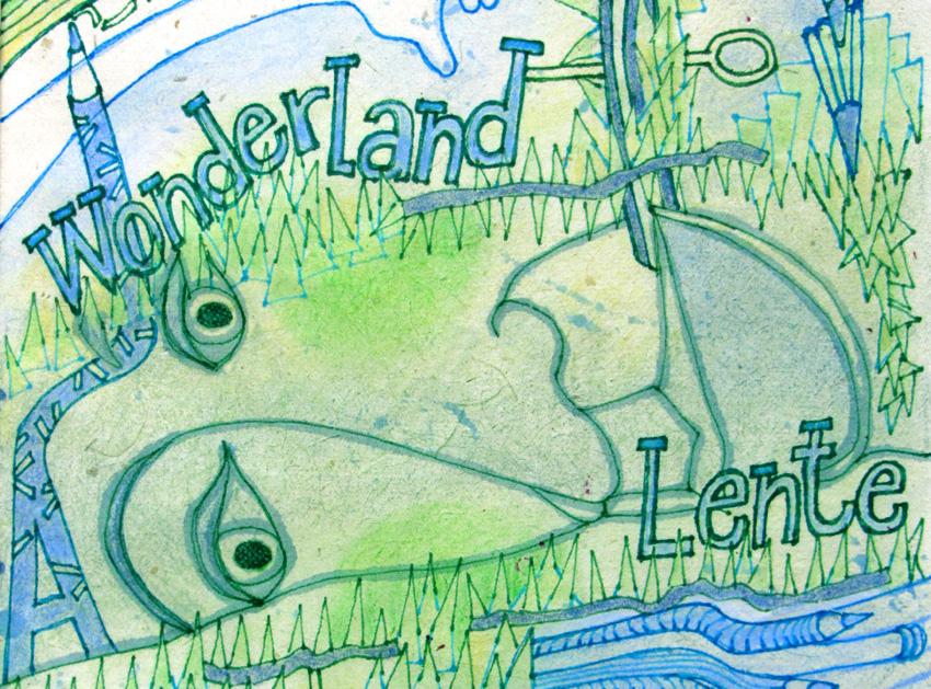 Wonderland Lente 2016 Geel