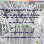 Uitnodiging Boomspiegelbeeld 2008